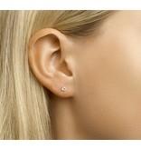 LAVI Tiny Zirconia Ear Studs 3mm