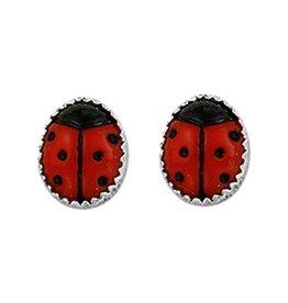 Ladybug Earstuds