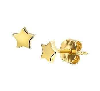 LAVI Gold Star Earring Studs