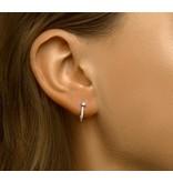 Silver Earrings Zirconia