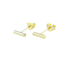 LAVI Bar Ear Studs Gold plated