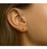 Paperclip Ear Studs