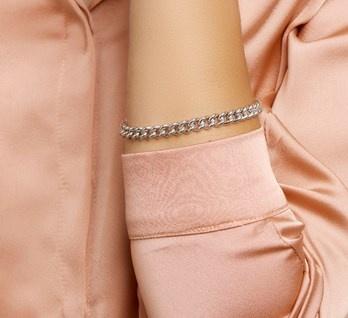 Stoere Echt Zilver Armband