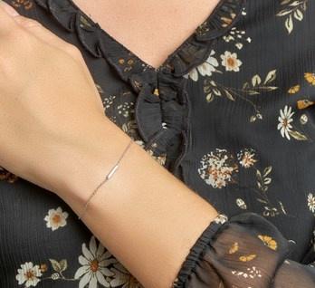 LAVI Platte Zilveren Armband - Copy