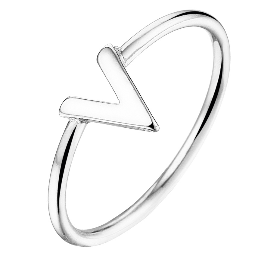 LAVI V Ring - Echt Zilver