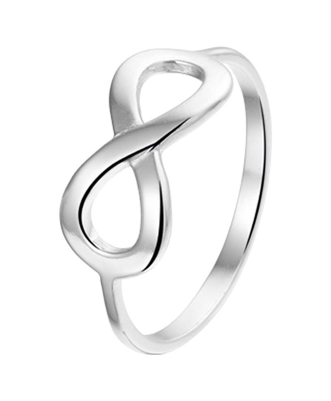 LAVI Infinity Ring - Echt Zilver