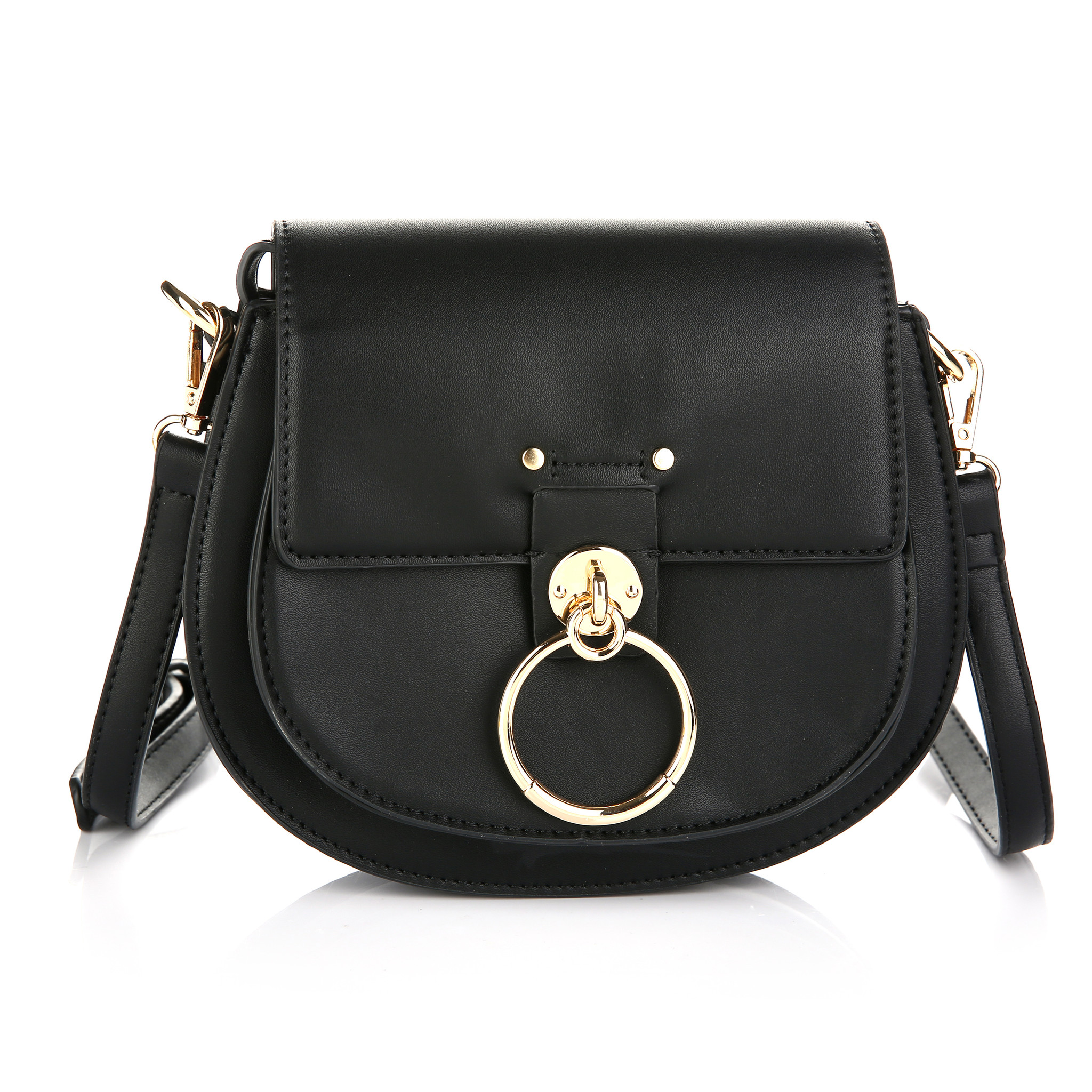 Schoulder Bag With Ring