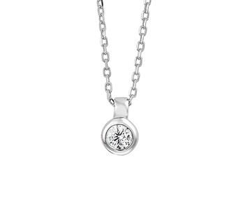 LAVI Sterling Silver Zirconia Necklace