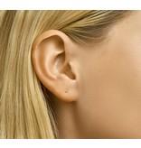 LAVI Gold Plated Ball Earrings 2mm