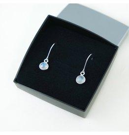 LAVI Moonstone Earrings - Sterling Silver