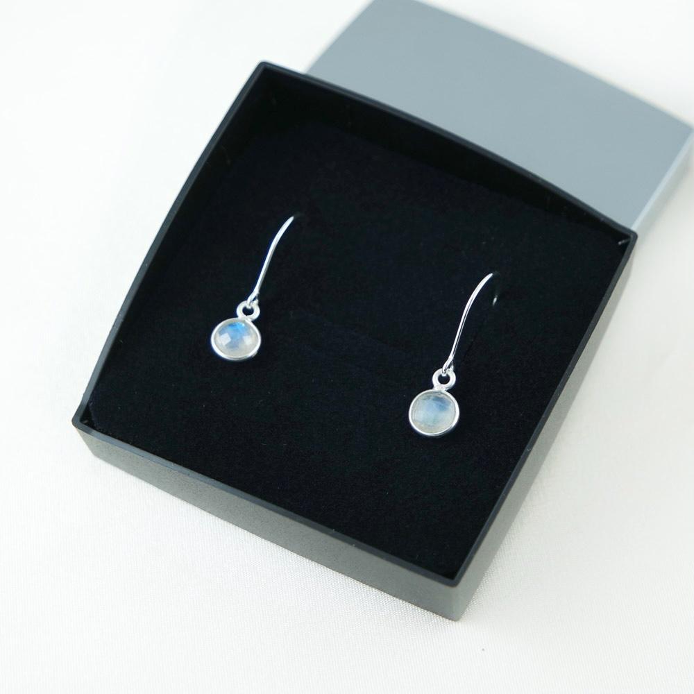 LAVI Rainbow Moonstone Earrings