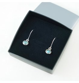 LAVI Labradoriet Earrings - Sterling Silver