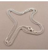 Silver Ball Chain 80cm