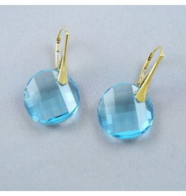 LAVI Light blue Swarovski Elements Earrings