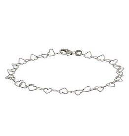 LAVI Silver Heart bracelet
