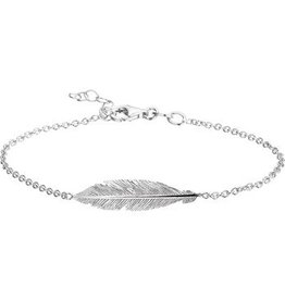 LAVI Silver Feather bracelet