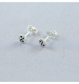 LAVI Yin Yang Earrings Studs
