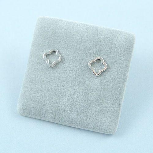 LAVI Clover Earrings Studs - Sterling Silver