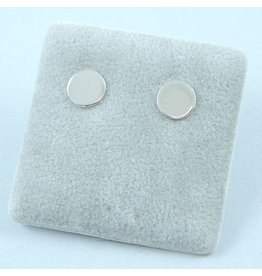 LAVI Tiny Round Stud Earrings