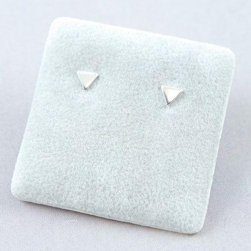 LAVI Zilveren Mini Driehoek Oorknoppen