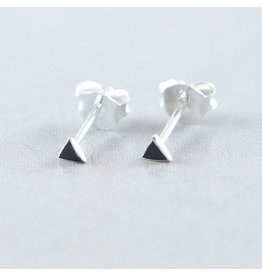 LAVI Tiny Triangle Star Ear Studs - Copy