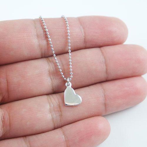 LAVI Sterling Silver Heart Necklace