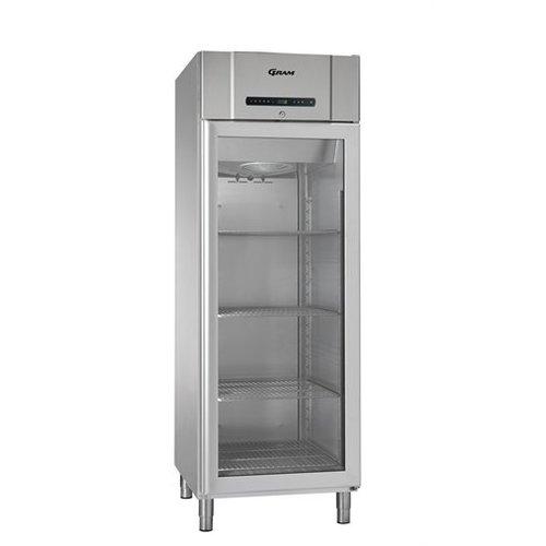 Gram Compact KG 610 4N koelkast glasdeur, inhoud 583 liter