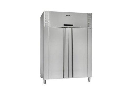 Gram PLUS K 1400 RSG 10N - koelkast, dubbeldeurs model - inhoud: 1400L
