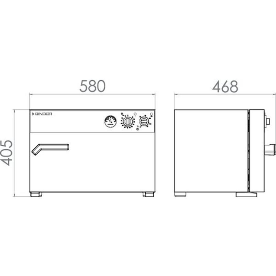 B 28 incubator | Mechanische instelling