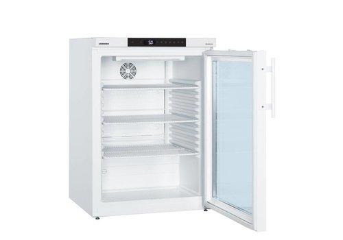 Liebherr LKUv 1613 glasdeur laboratorium koelkast tafelmodel