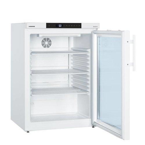 Liebherr LKUv 1613 tafelmodel laboratorium koelkast met glasdeur