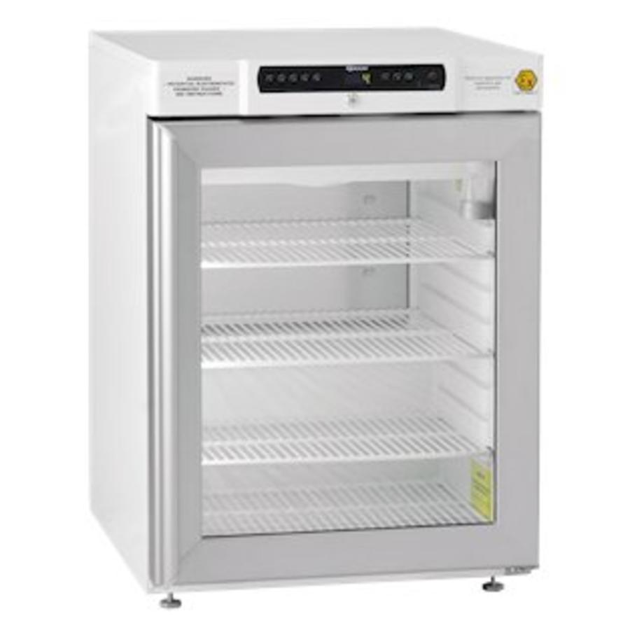 BioCompact II RR210 Glasdeur   medicijn/laboratorium koelkast