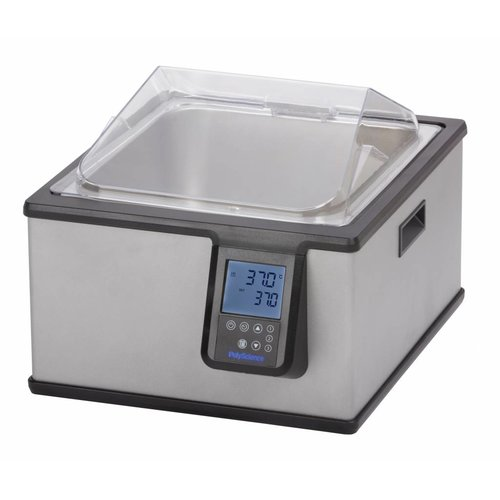 Verwarmde laboratorium waterbaden