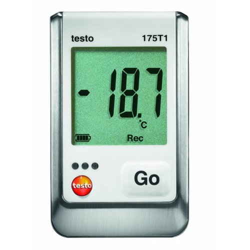 Temperatuur data logger draagbaar