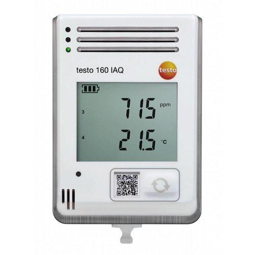 Testo 160 IAQ - WiFi datalogger geïntegreerde sensoren voor temperatuur, vocht, CO2 en atmosferische druk