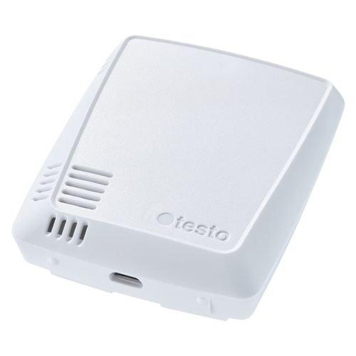 Testo 160 TH - WiFi datalogger geïntegreerde sensoren voor temperatuur en vochtgehalte
