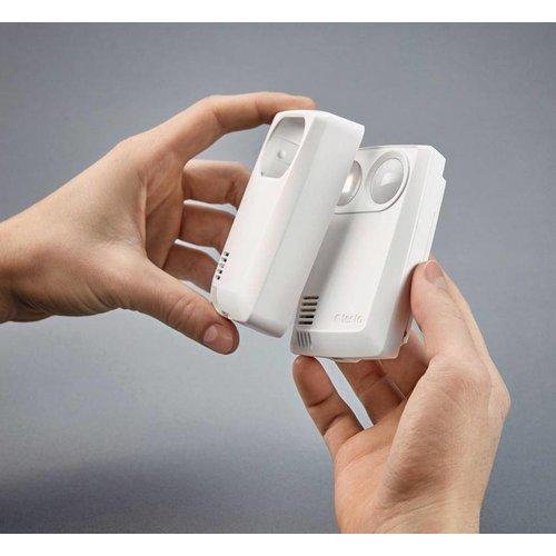 Testo 160 THL- WiFi datalogger geïntegreerde sensoren voor temperatuur, vochtgehalte, lichtsterkte en UV-straling