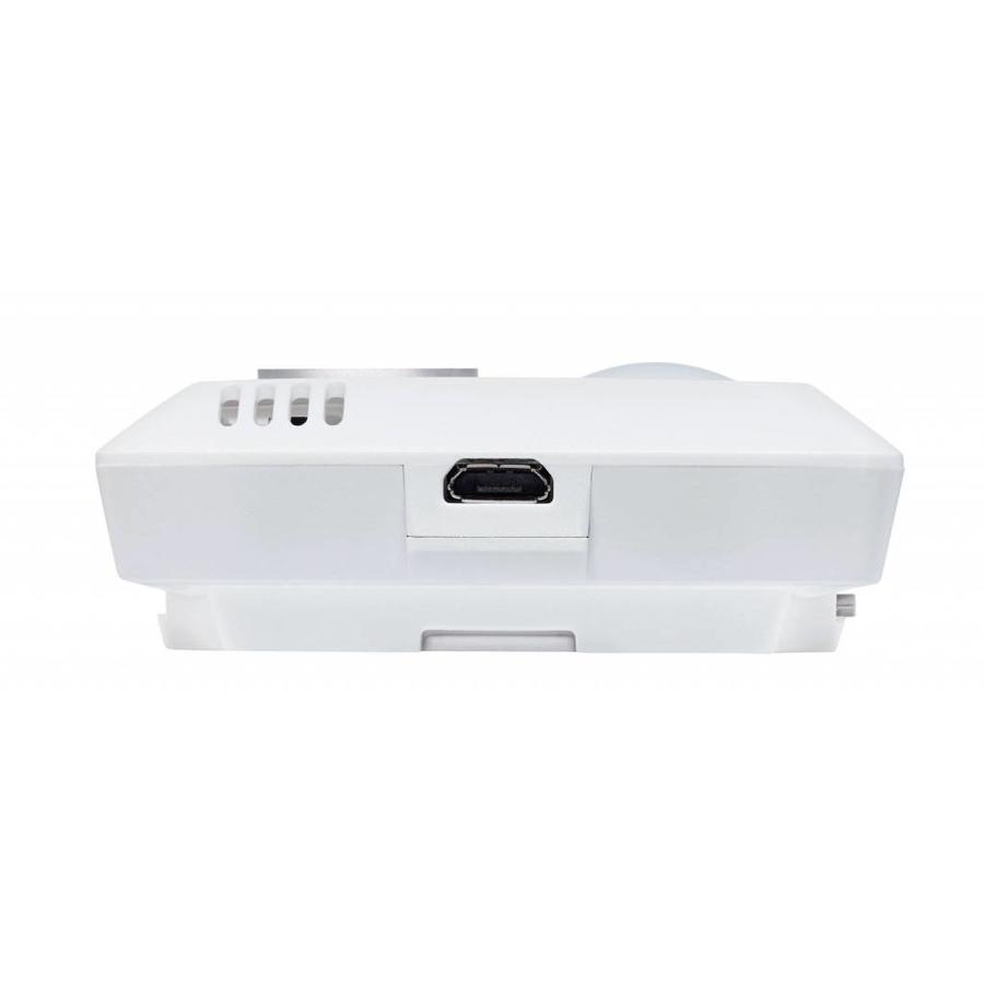 160 THL- WiFi datalogger geïntegreerde sensoren voor temperatuur, vochtgehalte, lichtsterkte en UV-straling