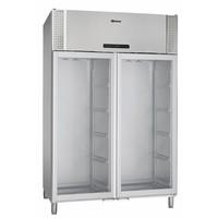 BioPlus ER1400 dubbele glasdeur koelkast