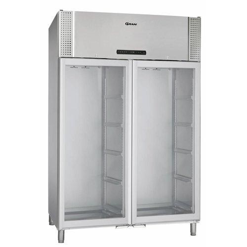 Gram Bioline BioPlus ER1270 dubbele  glasdeur laboratorium / medische koelkast