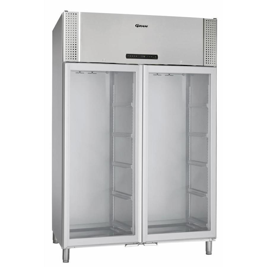 BioPlus ER1270 dubbele  glasdeur laboratorium / medische koelkast