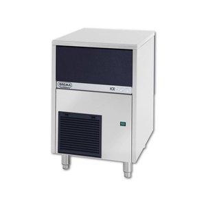 Brema IMF 35 HC ijsblokjesmachine met bunker-peddel
