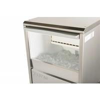 FS50 professionele ijsblokjesmachine (52 kg per 24 uur)