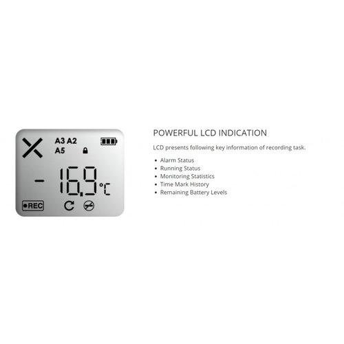 TempSen Tempod 100X USB temperatuur data-logger (externe sensor)