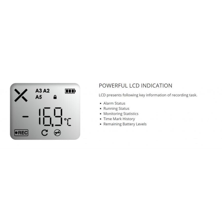 Tempod 200X USB temperatuur data-logger (externe sensor)