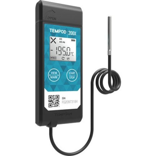 TempSen Tempod 200X USB temperatuur data-logger (externe sensor)