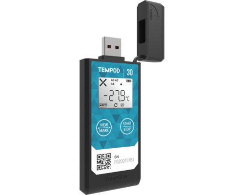 USB loggers met interne sensor