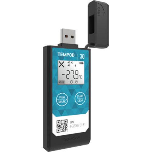 USB temperatuurloggers met geïntegreerde sensor