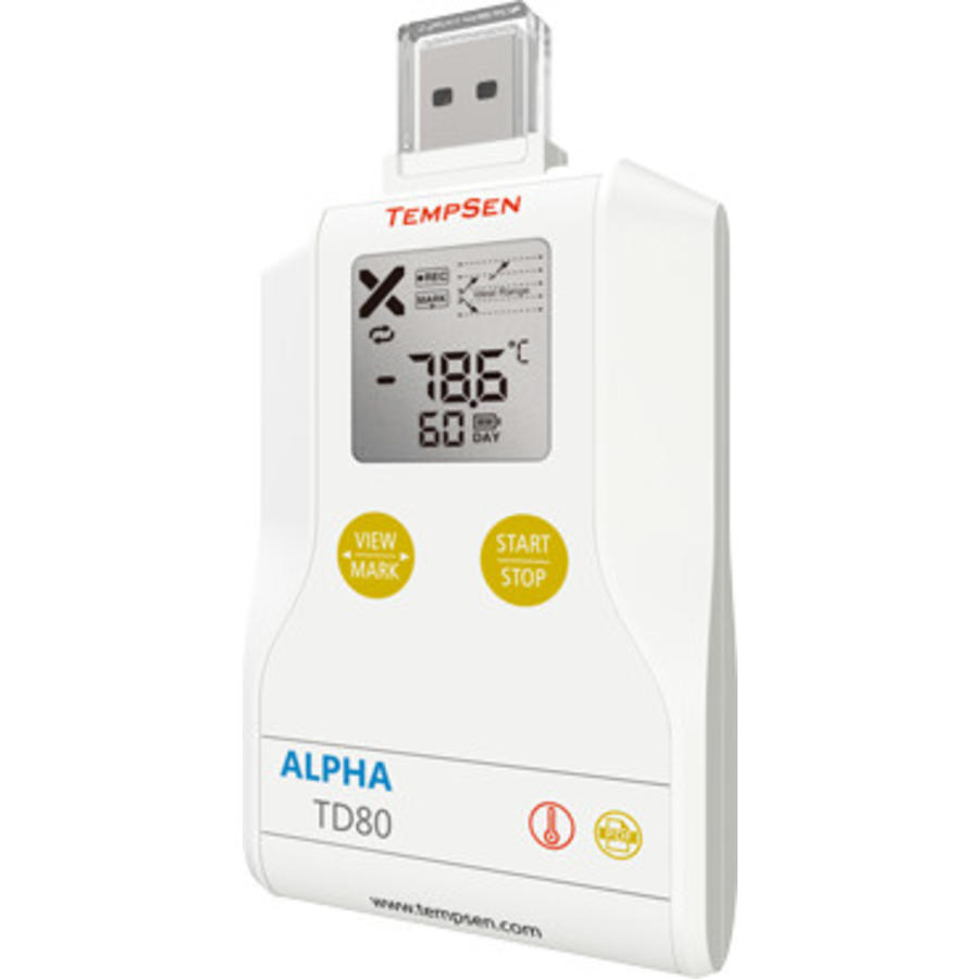 Alpha TD80 USB temperatuur data-logger
