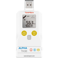 Alpha TH30 USB vocht en temperatuur data-logger